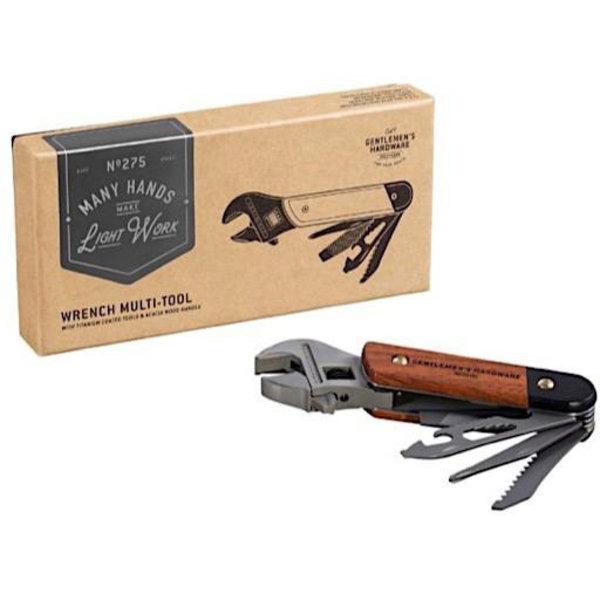 Wild & Wolf Gentlemen's Hardware Wrench Multi-Tool