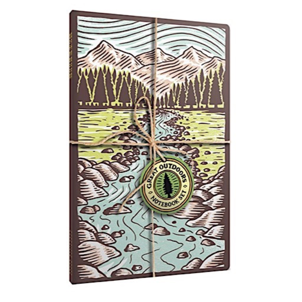 Chronicle Great Outdoors Notebook Set