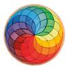 Grimms Color Circle Spiral Puzzle