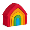 Grimms Stacking House - Rainbow