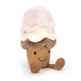 Jellycat Jellycat Amuseable Ice Cream - Medium - 12 Inches