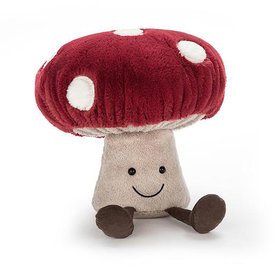 Jellycat Jellycat Amuseable Mushroom - Medium  - 11 Inches