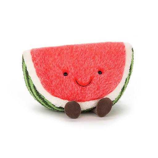 Jellycat Jellycat Amuseable Watermelon - Medium 11 Inches