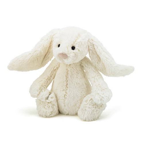 Jellycat Bashful Cream Bunny - Medium - 12 Inches