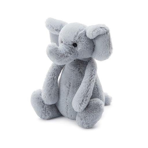 Jellycat Jellycat Bashful Grey Elephant - Small