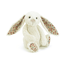 Jellycat Jellycat Blossom Lily Bunny Cream - Medium - 12 Inches