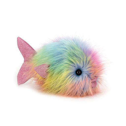 Jellycat Disco Fish - Rainbow - 10 Inches