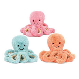 Jellycat Jellycat Odell Octopus Pastel Baby - Assorted Colors