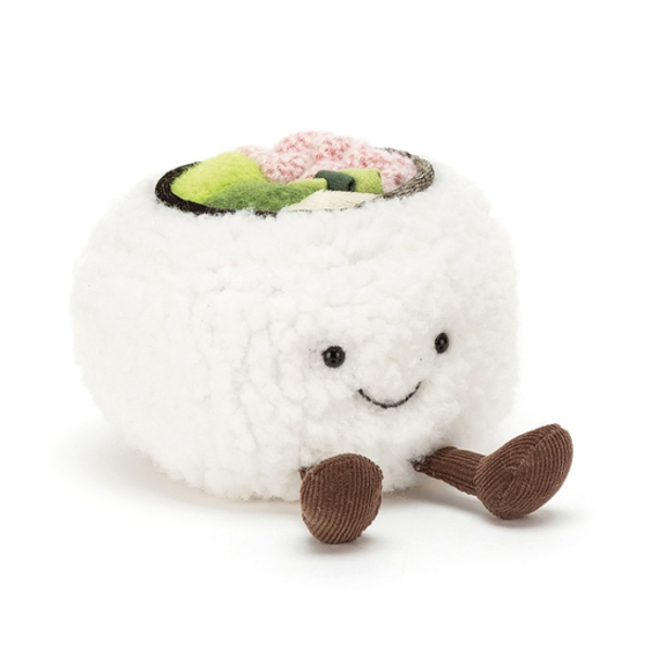 Jellycat Jellycat Silly Sushi - California Roll