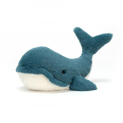 Jellycat Wally Whale - Tiny - 6 Inches