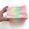 Little Lark Handprinted Rainbow Journal