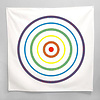 Little Lark Rainbow Bullseye Bandana
