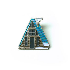 Lost Lust Supply Lost Lust Supply Enamel Pin - A-Frame - Winter