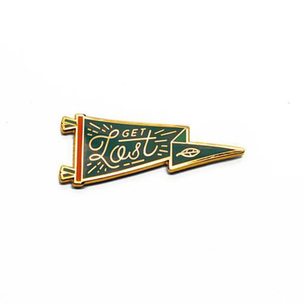 Lost Lust Supply Lost Lust Supply Enamel Pin - Oxford - Get Lost