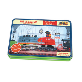 Galison Mudpuppy Magnetic Figures - All Aboard! Train