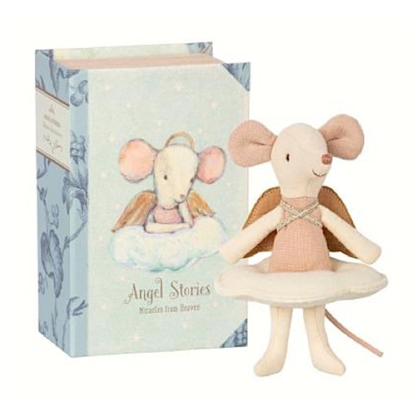 Maileg Maileg Mouse - Angel Big Sister in Box