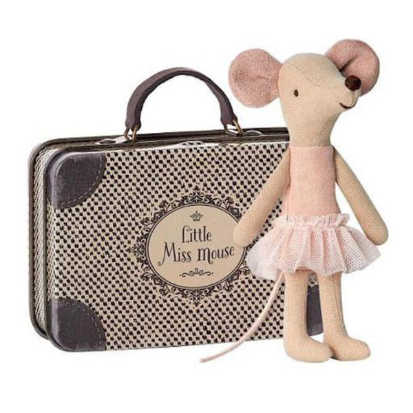 Maileg Maileg Mouse - Big Sister Ballerina in Suitcase