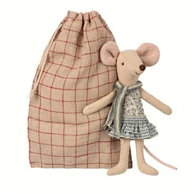 Maileg Maileg Mouse - Winter Big Sister in Bag
