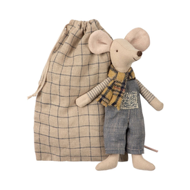 Maileg Maileg Mouse - Winter Father in Bag