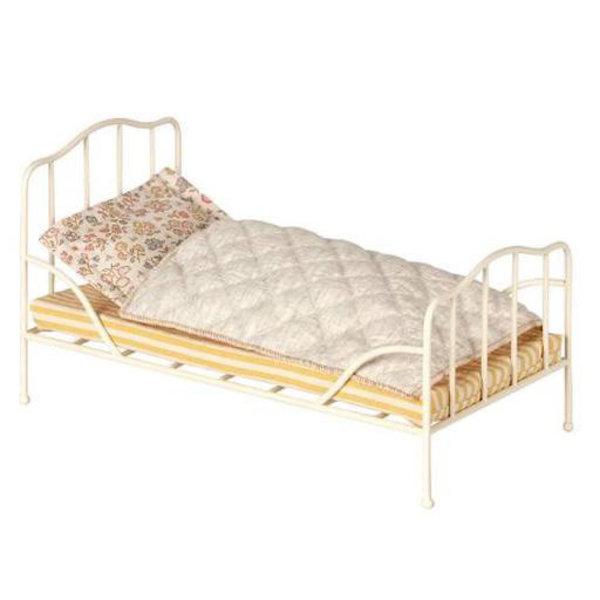 Maileg Maileg Off White Vintage Bed - Mini