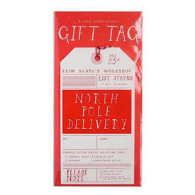 Mr. Boddington's Studio Mr. Boddington's Studio North Pole Delivery Gift Tag