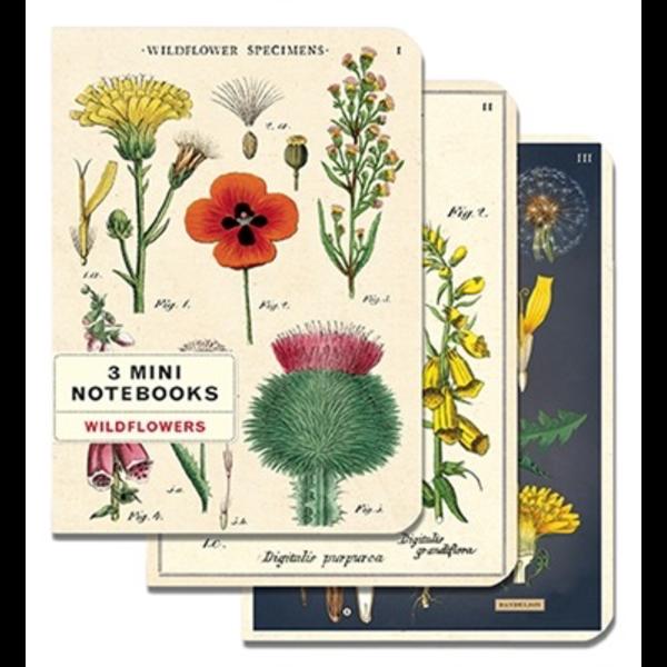 Cavallini Papers & Co., Inc. Cavallini Mini Notebooks - Wildflowers