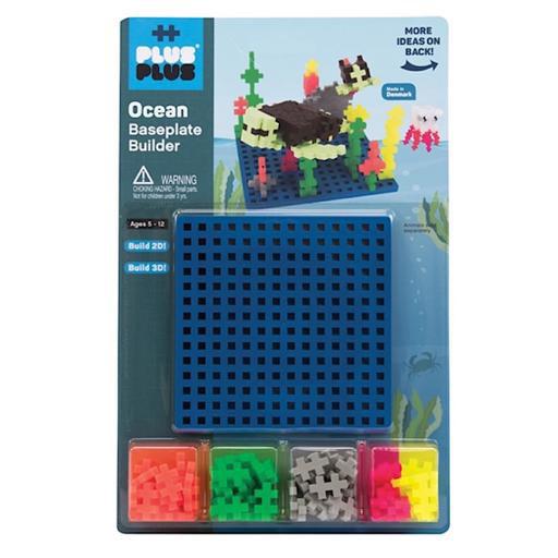 Plus Plus Baseplate Builder - Ocean