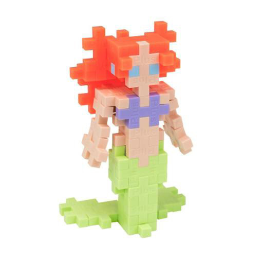 Plus Plus Mini Maker Tube - Mermaid