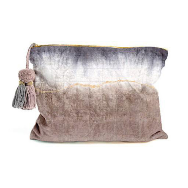 Printfresh Studio Printfresh Studio Geode Dip Dye Oversized Pouch