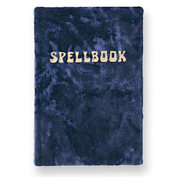 Printfresh Studio Printfresh Studio Journal - Small Velvet Spellbook - Navy