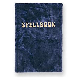 Printfresh Studio Printfresh Studio Journal - Small Velvet Spellbook - Navy