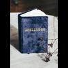 Printfresh Studio Journal - Small Velvet Spellbook - Navy
