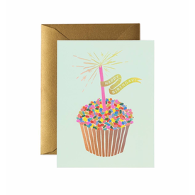 Rifle Paper Rifle Paper Co. Card - Cupcake Birthday