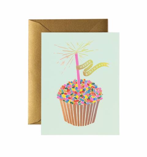 Rifle Paper Co. Card - Cupcake Birthday