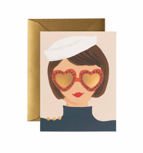 Rifle Paper Co. Rifle Paper Co. Card - Heart Eyes