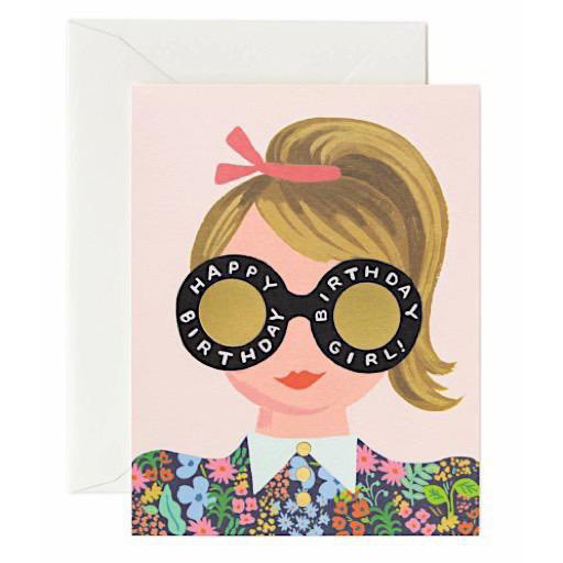 Rifle Paper Co. Rifle Paper Co. Card - Meadow Birthday Girl
