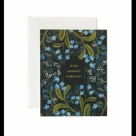 Rifle Paper Rifle Paper Co. Card - Sympathy Bouquet