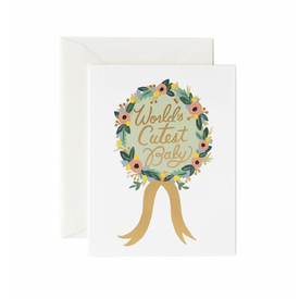 Rifle Paper Co. Rifle Paper Co. Card - Worlds Cutest Baby Award