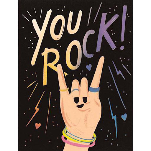 Rifle Paper Co. Rifle Paper Co. Card - You Rock