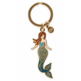 Rifle Paper Co. Rifle Paper Co. Enamel Keychain - Mermaid
