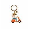 Rifle Paper Co. Enamel Keychain - Scooter