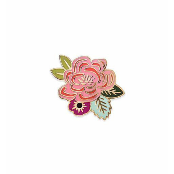 Rifle Paper Co. Rifle Paper Co. Enamel Pin - Juliet Rose