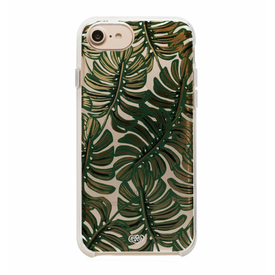 Rifle Paper Co. Rifle Paper Co. iPhone 6, 7 & 8 Case - Clear Monstera