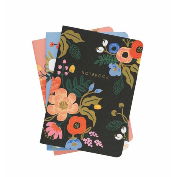 Rifle Paper Rifle Paper Co. Stitched Notebook Set - Lively Floral