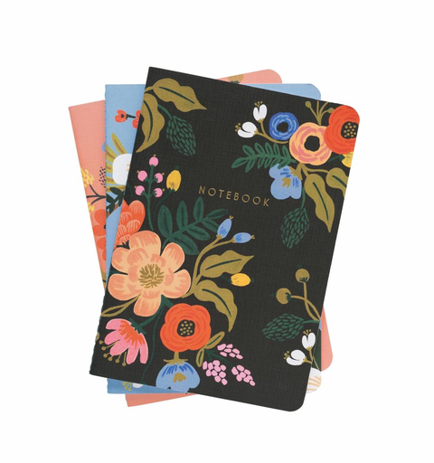 Rifle Paper Co. Rifle Paper Co. Stitched Notebook Set - Lively Floral
