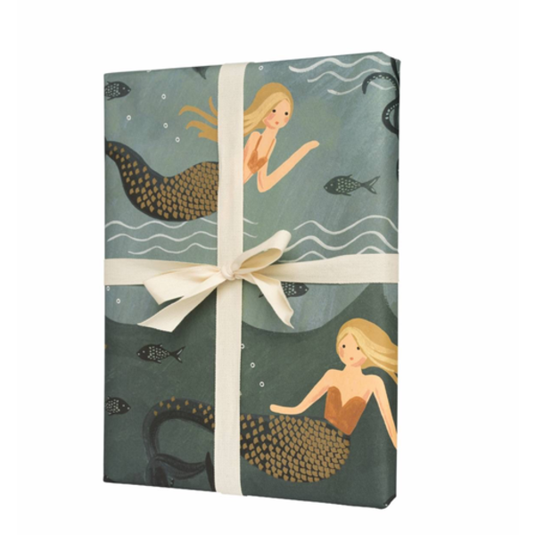 Rifle Paper Rifle Paper Co. Wrapping Sheets - Mermaid