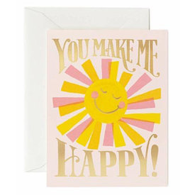 Rifle Paper Rifle Paper Co. You Make Me Happy Card