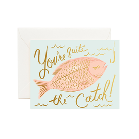 Rifle Paper Co. Rifle Paper Co. Card - You're A Catch