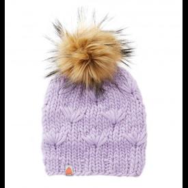 Sh*t That I Knit Sh*t That I Knit - Motley Beanie - Lavender - Faux Fur Pom