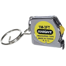 Toysmith Tape Measure Key Chain